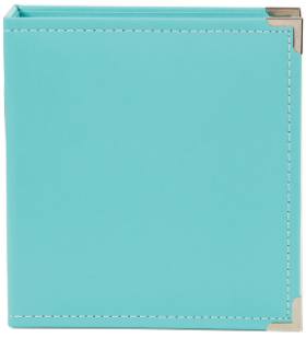SN@P! 6x8 Leather Album - Teal