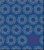 Planner - Navy Vineyard Flowers