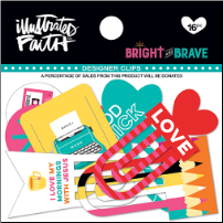 DESIGNER CLIPS - Bright and Brave