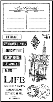 CITYSCAPES - Cling Stamps 3