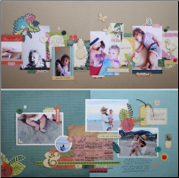 August 2015 Layouts