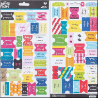 STICKERS - Bible Tabs Colorful