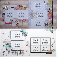 October 2015 Layouts