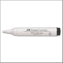 Faber Castell PITT Big Brush WHITE Pen
