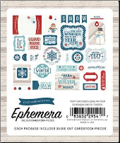 I LOVE WINTER - Ephemera Pack