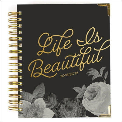 Spiral Planner - BEAUTIFUL 2019