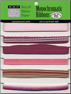 Ribbons: Monochromatic PINKS