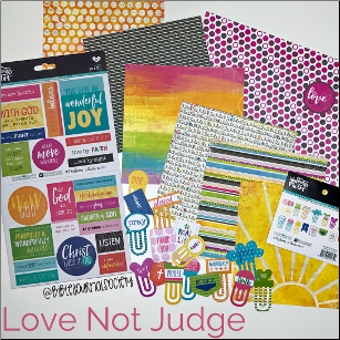LOVE NOT JUDGE Bible Journal Kit