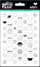 EPOXY STICKERS - Sugar Hexagons
