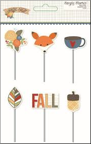 HELLO FALL - Decorative Clips